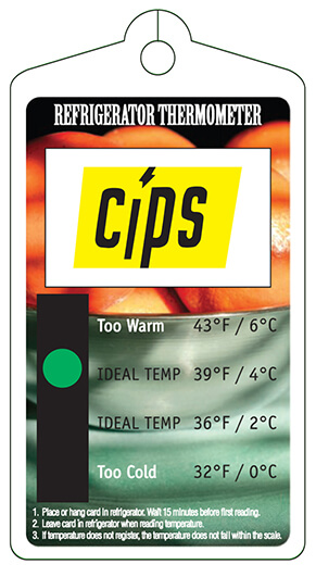 Refrigerator Thermometer | Temperature Indicator
