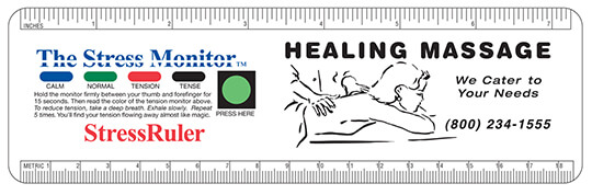 Stress/Tension Monitor and Ruler